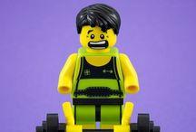 """Tudo é Incrível! / """"Tudo é Incrível"""" quando se brinca com Lego."""