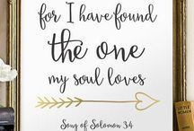 Bible Journaling- {Song of Solomon / by Lindsey Z.