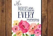 Bible Journaling- {Lamentations / by Lindsey Z.
