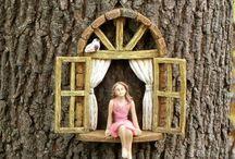 Jardins féeriques / Un jardin enchanté? Voici quelques idées pour inviter fées, elfes et gnomes chez vous !