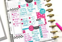 thenotableliz planner inspiration / A board dedicated to my all-time favorite planner layouts, tips, tricks, and inspiration!