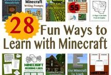 Home Ed - Minecraft / Learning with Minecraft. Activities and ideas for home education.