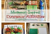 Home Ed - Dinosaurs / Activities and ideas for home education