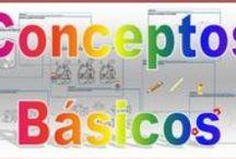 Conceptos básicos Infantil / by Escuela en la Nube