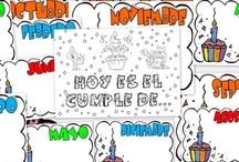 Cumpleaños / by Escuela en la Nube