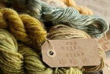 Yarn / art yarn, natural fibres, fibres, textiles, textile inspiration, knitting, crochet.