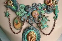 Jewelry / A board showcasing my handmade, artisan jewelry.  Check out my website at www.smallstuffdesign.com