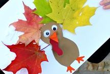 Fall/Harvest Crafts / Lots of fun crafts to do with your little ones for Fall, Halloween & Thanksgiving!