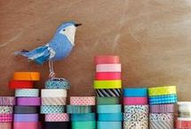 { washi } / Washi Tape comes in all sizes, colors and patterns for endless creative possibilities.  It is fun for all ages and all types of projects. / by Paper Lush