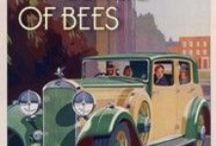 The Language of Bees / Images that illustrate the ninth book in Laurie R. King's Mary Russell-Sherlock Holmes series.