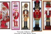 Christmas Decorations / Beaded Nutcracker Patterns. Either a single piece or an E-book with all patterns of that year