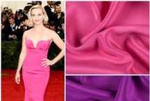 Mood•Red Carpet / Red Carpet looks from our favorite stars. We even found fabrics from our store that could inspire you to make your own red carpet look!