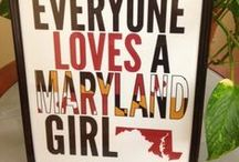 Saltwater Life / Born and Bred in the Old Line State / by Beth Mayson