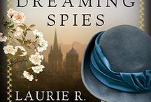 Dreaming Spies / Mary Russell & Sherlock Holmes travel from Sussex to Japan to Oxford, with a case of international importance resting on a small, delicate book of illustrated poetry. If you start at the bottom of this board, you'll be following the sequence of the story.  The book's page, with excerpts, is here:  http://www.laurierking.com/books/mary-russell/dreaming-spies-2015 Enjoy!