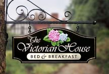 "Bed and Breakfast: ""The Victoria Inn"" / My dream is to one day own a quaint, little antique Bed and Breakfast!"