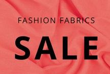 Mood•Sales! / Exclusive sales for your fabric-loving (and buying) pleasure. Check here often!