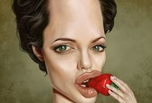 Caricatures of the Famous / Caricatures of the famous. / by Sandy Norcom