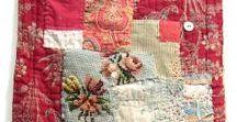 slow stitching club / inspirational stitching and stitchers for slow stitching club.