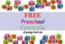 Free Preschool Materials / Free Materials for Preschool teachers or homeschooling parents