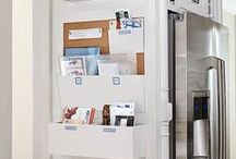 Organizing / organization and storage ideas; organize your closet, kitchen, bedroom, office, and your entire home!