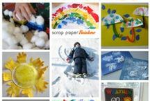 Stuff for the Kiddos / Kids activites; indoor and outdoor fun for kids; crafts for kids; kids activities for summer, winter, spring, and fall!  Independent kids activities, messy kids activities, activities for energetic kids, quiet activities for kids.  It's all here! / by Imperfect Homemaker