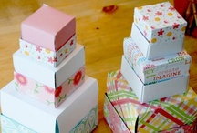 Gift Boxes and Bags / by Donna Yeates