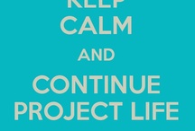 Project life & printables / by Lidia Filippi