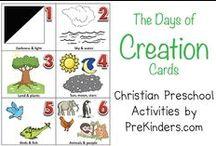 Creation Curriculum for Children / Creation activities and curriculum for children.