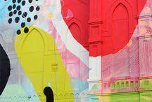 Abstract Art  / Abstract fabulous meets color crush! / by Bobbi LaRae