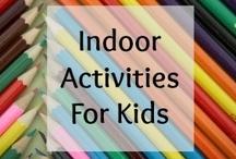 Indoor Activities for Kids / Activities for Kids Suitable for Doing Indoors