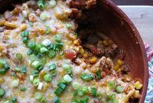 Main Dish Recipes: Ground Beef / Healthy and Delicious Ground Beef Recipes