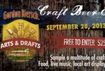 Arts & Drafts / Craft Beer Event hosted by Gordon Biersch at the Sandler Center! / by Sandler Center