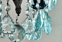 Luxurious Chandeliers / Every room needs a chandelier to add a touch of luxury