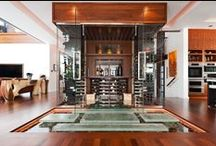 Luxury Homes | Wine Cellars / Find a home with stunning wine cellars at www.LuxuryHomeMagazine.com
