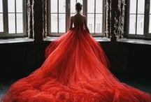 lady in red / by Blush