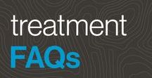 treatment FAQs / Whether you're still considering Invisalign® treatment, or your smile is already in motion, you probably have lots of questions. We're making sure all of your teeth straightening bases are covered, including tips to care for your aligners, answers about Invisalign® treatment vs. braces, and more.