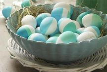 EASTER / Easter ideas, decorating for Easter, Easter decorations, easter basket ideas, easter egg ideas, easter egg hunt ideas