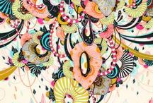 Crafts Illustrations and Surface Pattern / by Rachel Powell