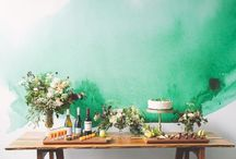 SWEET TABLES / Dessert tables, sweet tables, party food table, grazing tables, amy atlas