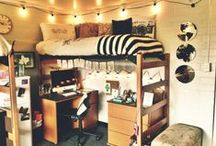 Dorm Sweet Dorm / Everything you need to inspire your dorms transition from four walls into your new home.