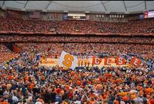 Go Cuse! / From basketball to football and everything in between, we have a lot of Cuse pride and we're not afraid of showing it.