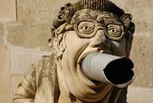 STONE ART / Garden sculptures, Gargoyles, Facade Details