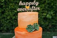 I Do / Infuse a little #orange into your wedding.
