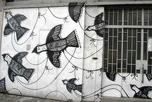 BIRDS  /PRINTMAKING