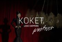 KOKET | A Seductive Partner / KOKET - Love Happens offers a highly edited unique collection of accent piece casegoods, upholstery and lighting. www.bykoket.com