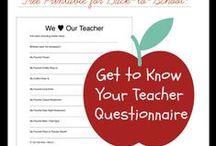 Teacher Appreciation / Room parent ideas