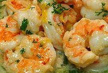 Recipes - seafood / by Terrie Madigan Garrett