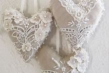 Valentines & Hearts To Love / Loving Valentines Day ~ This is a collection of adorable to over the top shabby and romantic