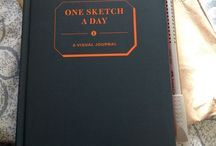 365 Day Sketch Book / Ideas for a drawing entry for each day for a whole year.
