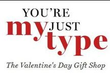 You're Just My Type / Find great gift ideas for your BFF or sweetheart this Valentine's Day! / by Indigo | Chapters